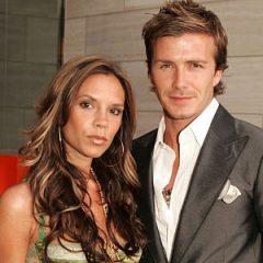 Дэвид и Виктория Бекхэм показали папарацци любовь