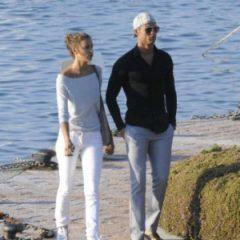 Криштиану Роналду отдохнул во Франции с сыном и возлюбленной