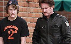 Арестован 18-летний сын Шона Пенна