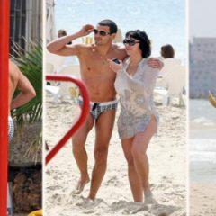 Лолита отдохнула с молодым женихом на пляже в Тель-Авиве