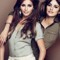 Пенелопа и Моника Крус рекламируют свою одежду