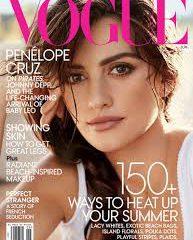 Пенелопа Крус украсила собой обложку июньского Vogue