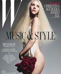 Кристина Агилера обнажилась для журнала W