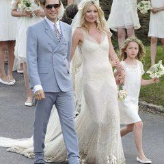 Свадебный wish-лист Кейт Мосс: 14 пепельниц, ящик шампанского и плед