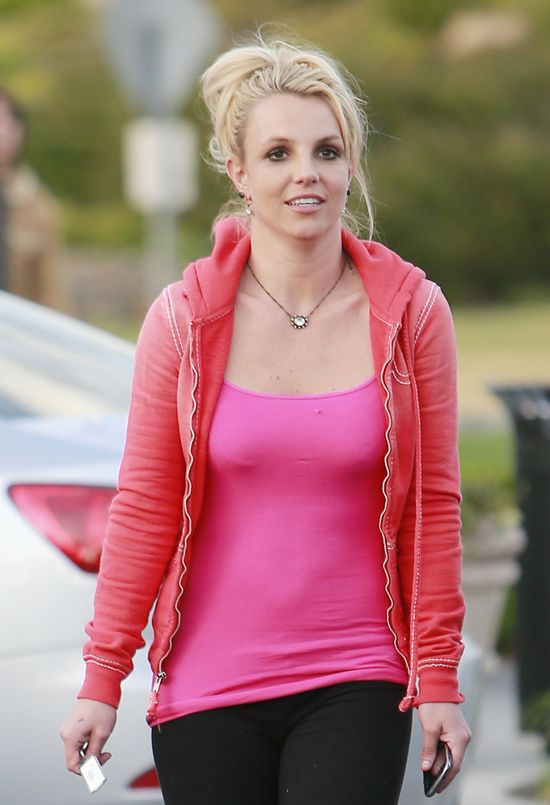 Britney Spears is Pretty in Pink
