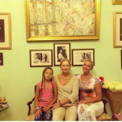 В честь своей талантливой дочери мать Анастасии Волочковой создала в доме музей