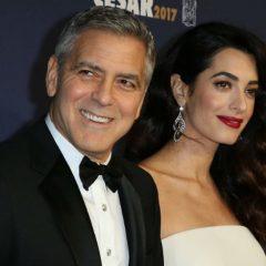Джордж и Амаль Клуни отказались от поездок до рождения близнецов