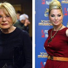 Актриса Людмила Максакова снова высказалась в адрес овдовевшей дочери