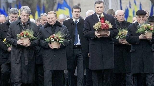 Комический снимок пяти президентов Украины опубликовал Денис Казанский