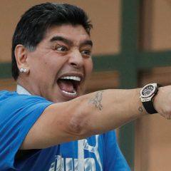 Диего Марадона решил остепениться?
