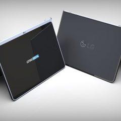 LG запатентовала планшет с отстегивающейся клавиатурой